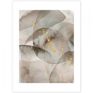 Obraz na stenu - zlatobéžový