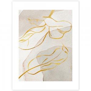 Obraz zlatožlté listy