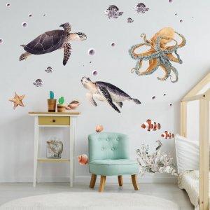 Podmorský svet - nálepky do detskej izby