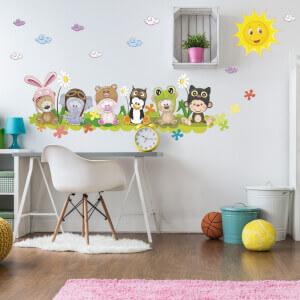 Detské nálepky na stenu